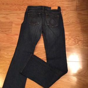 Size 25 long big star jeans